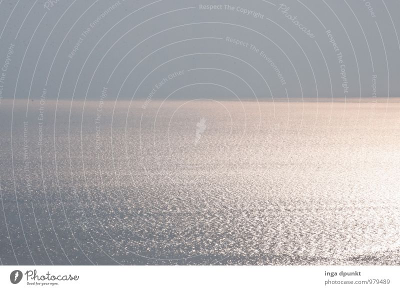 Hinter dem Horizont Umwelt Natur Landschaft Urelemente Wasser Sonne Sonnenlicht Schönes Wetter Meer See Israel Totes Meer Naher und Mittlerer Osten