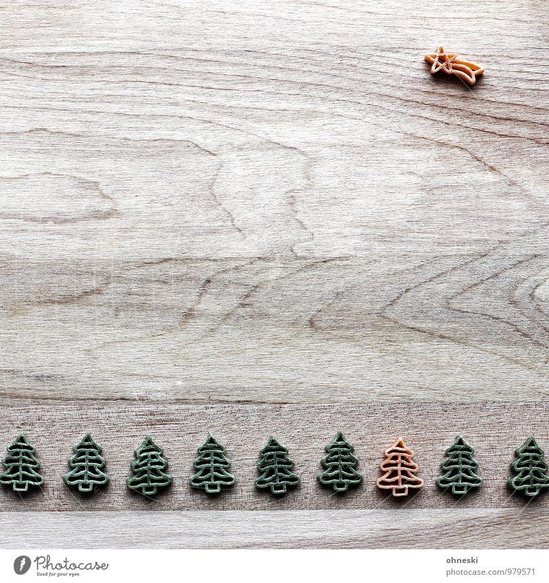 Stern Weihnachten & Advent grün Stern (Symbol) Zeichen Weihnachtsbaum Tanne Weihnachtsdekoration Weihnachtsstern