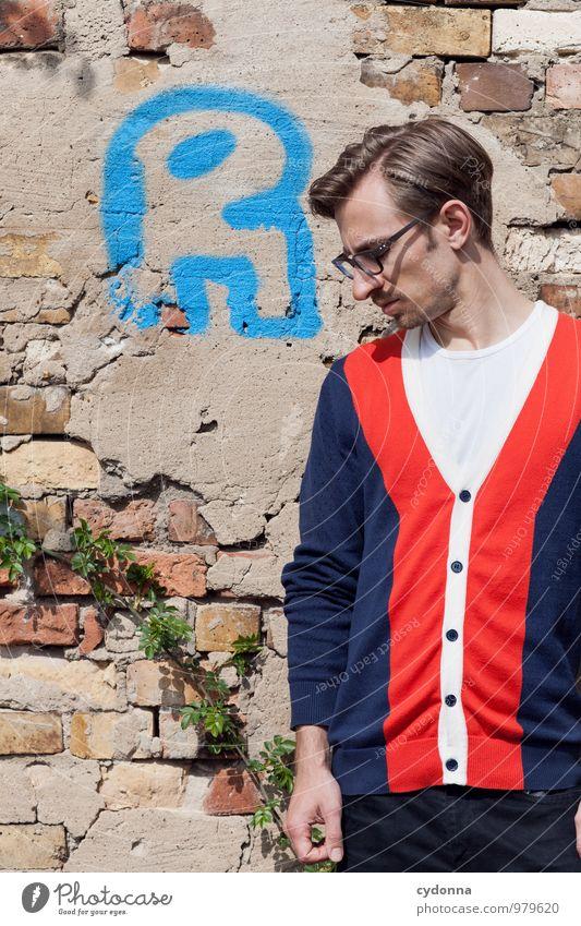 R wie ... Mensch Jugendliche Erholung Junger Mann 18-30 Jahre Erwachsene Wand Leben Graffiti Mauer Stil Lifestyle elegant Schriftzeichen Beginn Kommunizieren
