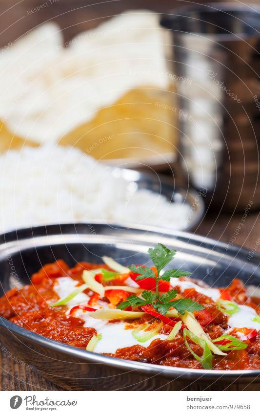 Masala Essen Lebensmittel Foodfotografie Metallwaren gut Geschirr Schalen & Schüsseln Backwaren Fleisch Abendessen Indien Teigwaren Sahne Becher rustikal Billig