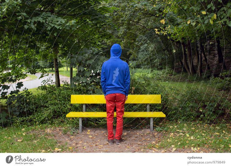 [2800] in RGB Mensch Natur Jugendliche Farbe Erholung Junger Mann Freude 18-30 Jahre Umwelt Erwachsene Leben Stil Park Lifestyle Design stehen