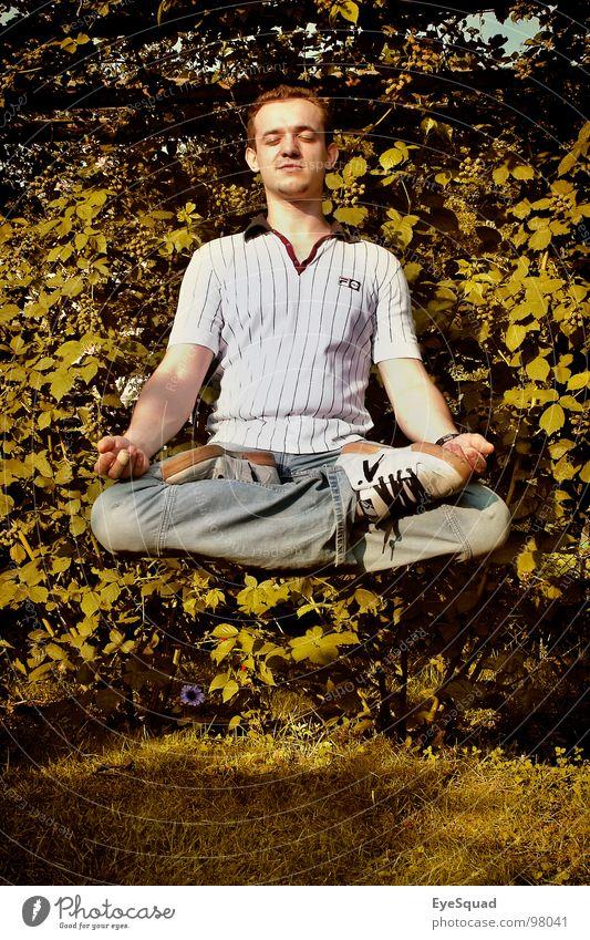 Konzentrationsübung Zauberei u. Magie Schweben Esoterik abgehoben liegen entpannen meditativ spirituel guru die macht galle77 atreyu