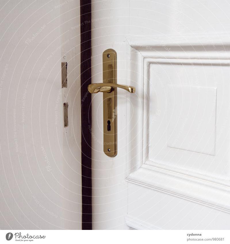 Darf ich schon gucken? Weihnachten & Advent Wege & Pfade Wohnung Raum Häusliches Leben elegant Tür Design offen Beginn Schutz Hilfsbereitschaft Sicherheit