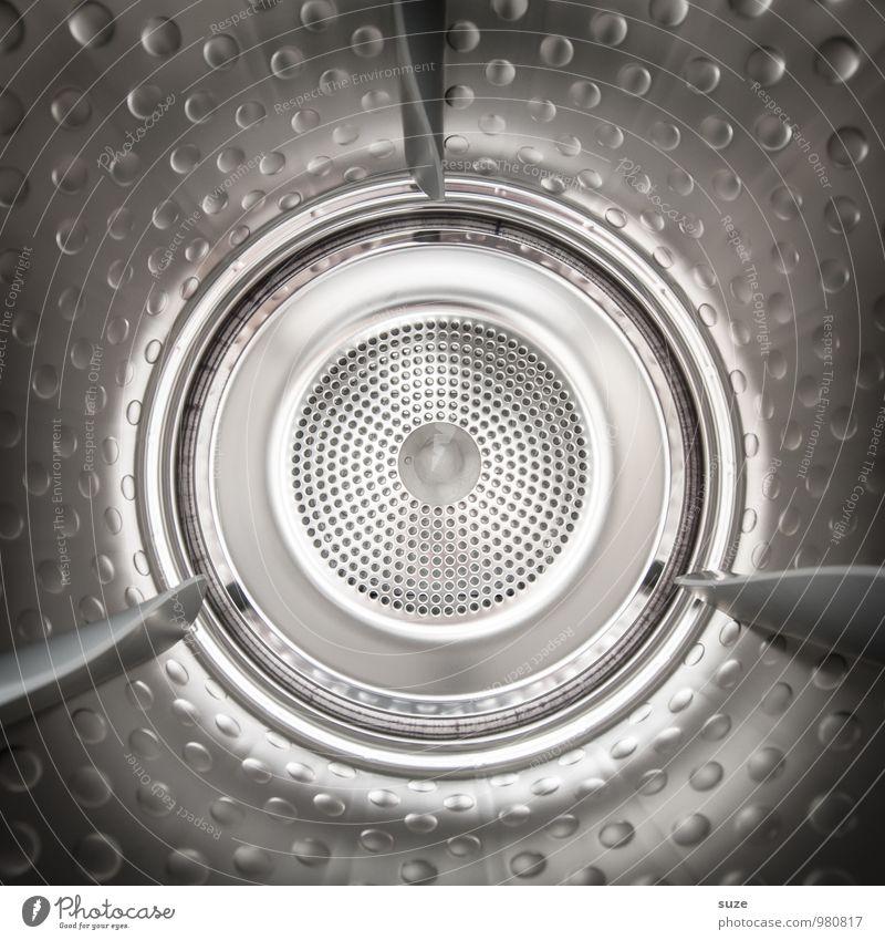 Die Blechtrommel Zeitmaschine Technik & Technologie Metall glänzend Reinigen außergewöhnlich kalt modern Originalität rund Sauberkeit grau silber Reinlichkeit