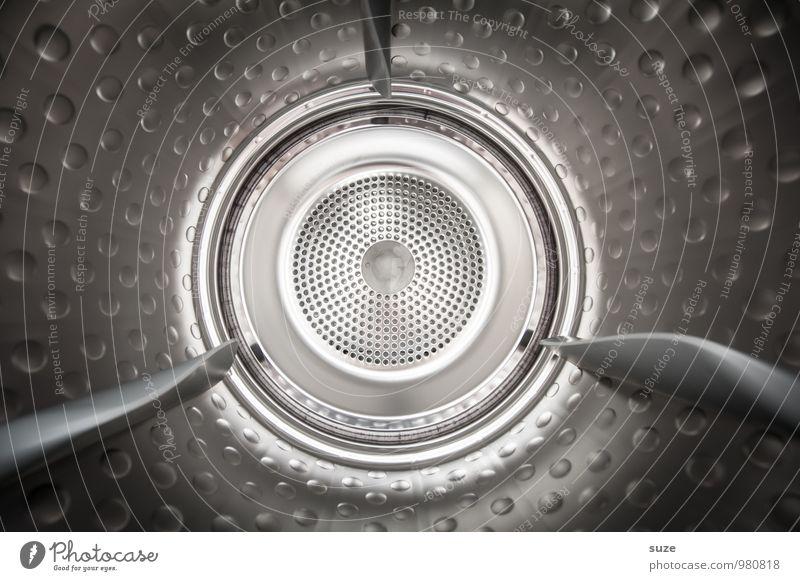 Die Blechtrommel Maschine Zeitmaschine Technik & Technologie Fortschritt Zukunft Industrie Metall glänzend Reinigen kalt rund Sauberkeit silber ästhetisch