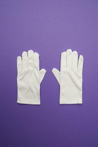 WeihMa Bastelset   Handschuhe weiß lustig Stil außergewöhnlich Mode Zusammensein Design paarweise Bekleidung Kreativität einfach Sauberkeit kaufen Zeichen