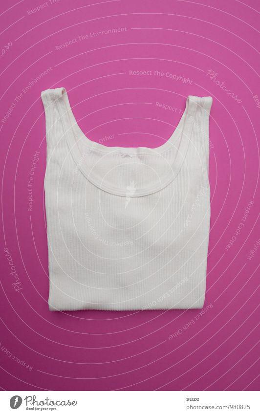 WeihMa Bastelset | Unterhemd weiß lustig Stil Lifestyle Mode rosa Design Freizeit & Hobby Kreativität Bekleidung kaufen einfach Idee Streifen Sauberkeit Stoff