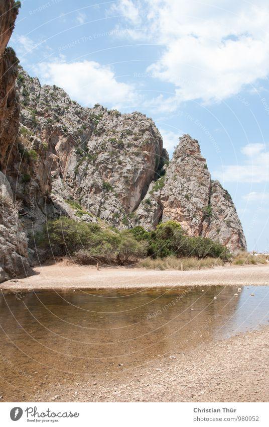 Bucht / Mallorca Wellness Leben harmonisch Wohlgefühl Zufriedenheit Sinnesorgane Erholung ruhig Meditation Duft Ferien & Urlaub & Reisen Tourismus Ausflug