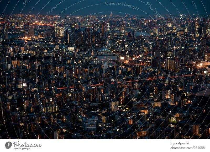 Tokio II Technik & Technologie High-Tech Japan Tokyo Asien Stadt Grossstadtromantik Honshu Verkehr Verkehrswege Straße Wege & Pfade Wegkreuzung Tourismus groß