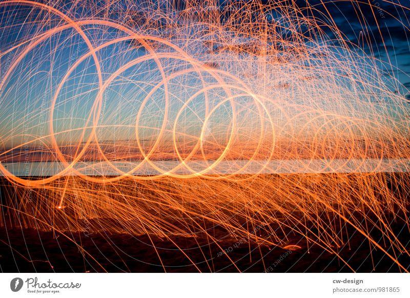 Und ich so voll am durchdrehn und so Silvester u. Neujahr Natur Landschaft Urelemente Sand Feuer Luft Wasser Himmel Sonnenaufgang Sonnenuntergang Sommer