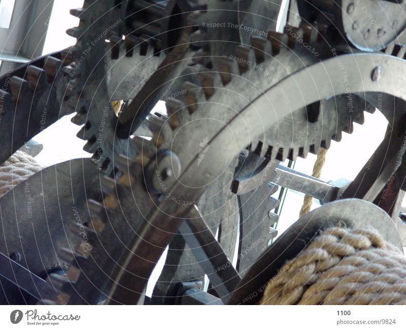 Getriebe Mechanik Interpretation Elektrisches Gerät Technik & Technologie Zahnrad Übersetzung Seilwinde