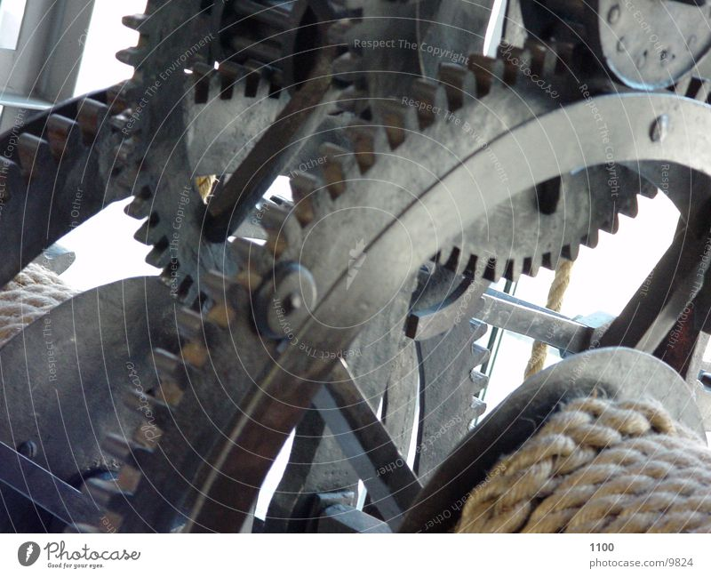 Getriebe Seil Technik & Technologie Zahnrad Maschine Maschinenteil Mechanik Interpretation Elektrisches Gerät Getriebe