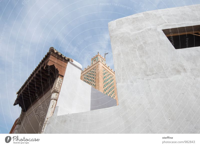 Arabian Dream XXII Marokko Orient Arabien arabisch Urlaub Tourismus Marrakesch Stadt Minarett