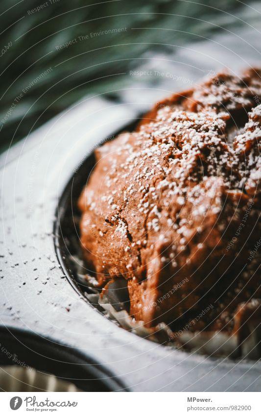 macromuffin schön Lebensmittel frisch Ernährung Kochen & Garen & Backen lecker Süßwaren Appetit & Hunger Schalen & Schüsseln Teigwaren Fastfood Muffin Schokoladenkuchen Puderzucker Backform Torte