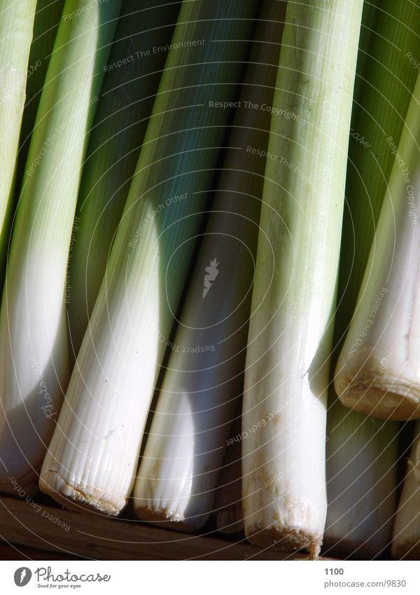 Lauch grün Ernährung Gemüse Zwiebel Porree Knollengewächse