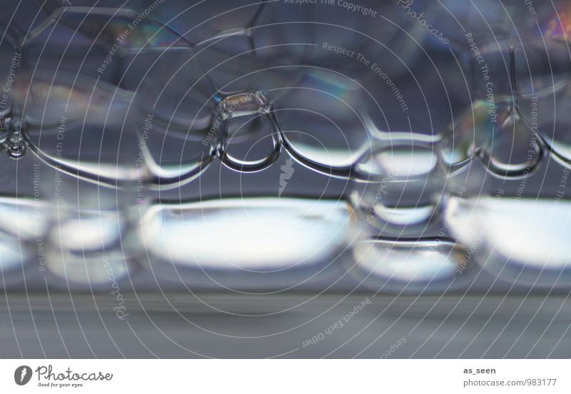 Bubbles blau Wasser Stil grau außergewöhnlich Gesundheitswesen Luft Design modern ästhetisch Technik & Technologie nass Zukunft Telekommunikation Coolness