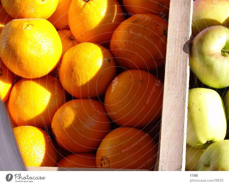 Orangen / Äpfel Ernährung Apfel Schatten