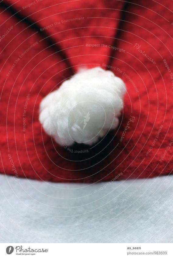 Santa III Weihnachten & Advent Farbe weiß rot Winter lustig Feste & Feiern Design maskulin Kindheit ästhetisch Bekleidung weich Hilfsbereitschaft geheimnisvoll