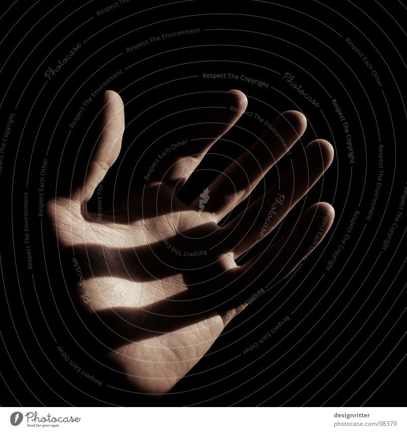 Das Licht 2 Hand dunkel Wege & Pfade Zufriedenheit Suche Finger Sicherheit Gott Lied finden Götter Bibel Orientierung Lichtschein David und Goliath