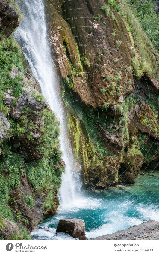 Paradies Ferien & Urlaub & Reisen Tourismus Ausflug Sommerurlaub Umwelt Natur Landschaft Wasser Wassertropfen Klima Klimawandel Urwald Fluss Wasserfall Krka