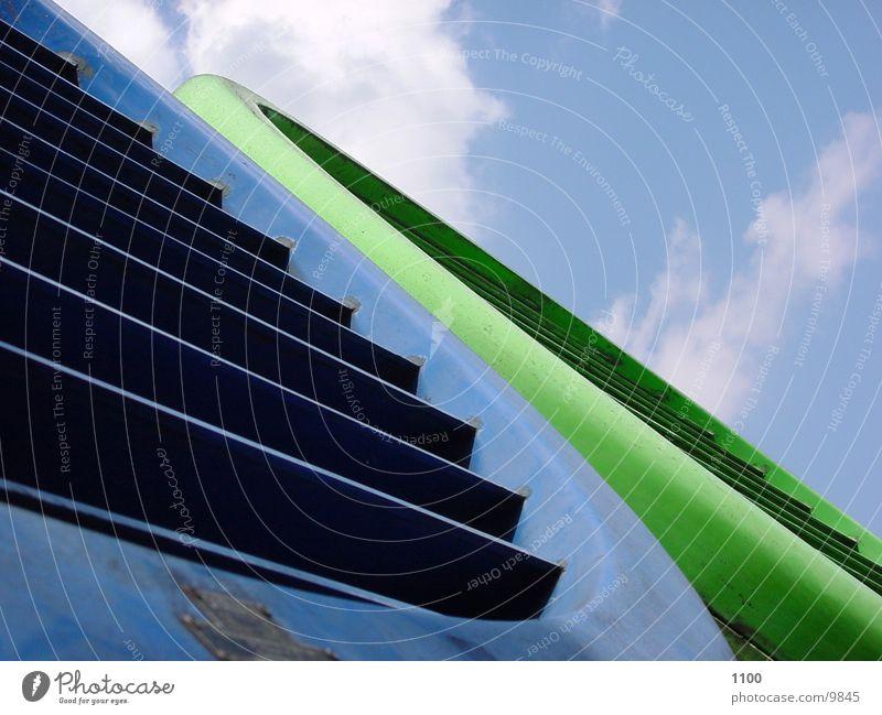 Röhren Himmel Wolken Technik & Technologie Eisenrohr Elektrisches Gerät