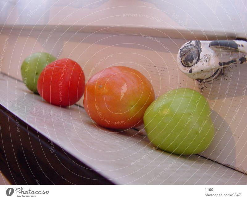 Äpfel Apfel Dinge Fensterbrett
