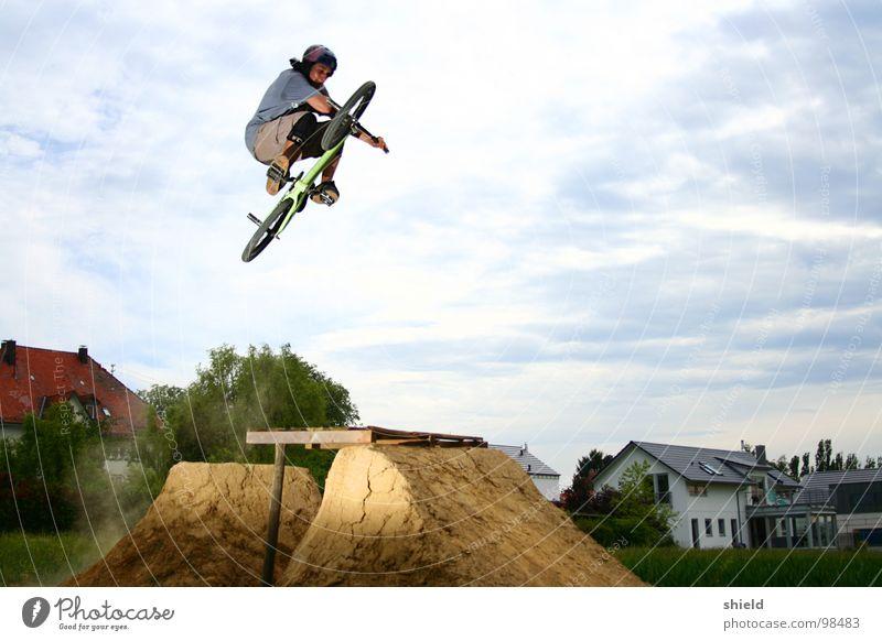 tischoberfläche Fahrrad BMX Mountainbike Trick Extremsport