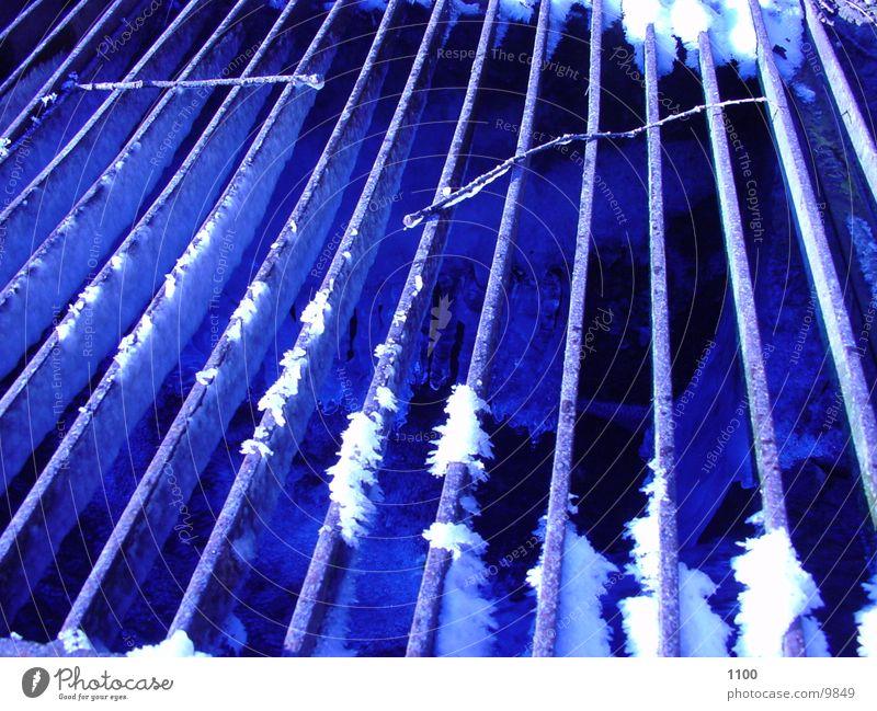 schacht Schacht Winter kalt Architektur Eis