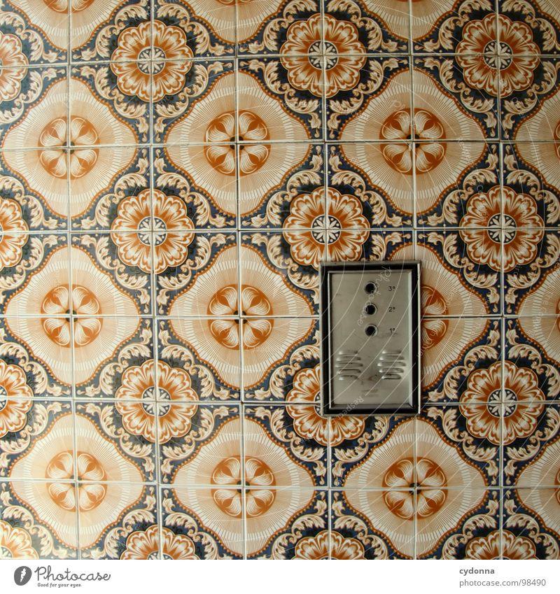 Klingeling Portugal Verfall Ferien & Urlaub & Reisen entdecken fremd Gasse Haus schön Neugier Typographie Kultur Wand fließen Mosaik Dekoration & Verzierung