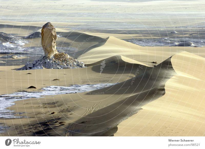 Weisse Wüste Aegypten Natur Sand Afrika Stranddüne Ägypten Weiße Wüste