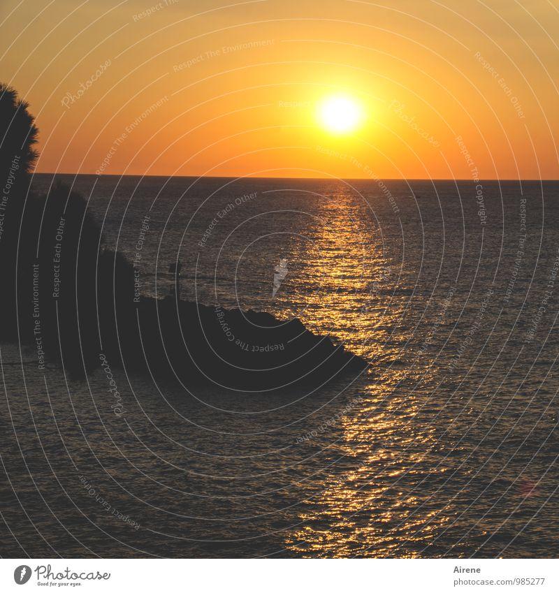 der Stoff, aus dem die Träume sind Ferien & Urlaub & Reisen Ferne Sommer Meer Landschaft Luft Wasser Himmel Sonne Sonnenaufgang Sonnenuntergang Schönes Wetter