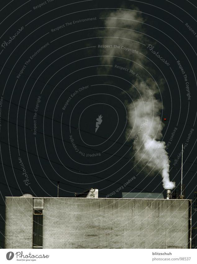 dark sky Natur Himmel schwarz dunkel Gebäude Regen Erde Angst Wetter Umwelt Eisenbahn Industrie Fabrik Bild Rauch Gewitter