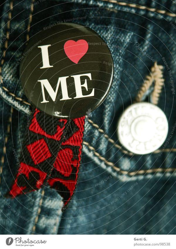 monogam Liebe schwarz Gefühle Freiheit Paar Zufriedenheit geschlossen Jeanshose Romantik Schriftzeichen Partnerschaft Verliebtheit Wohlgefühl Sorge Knöpfe Rest