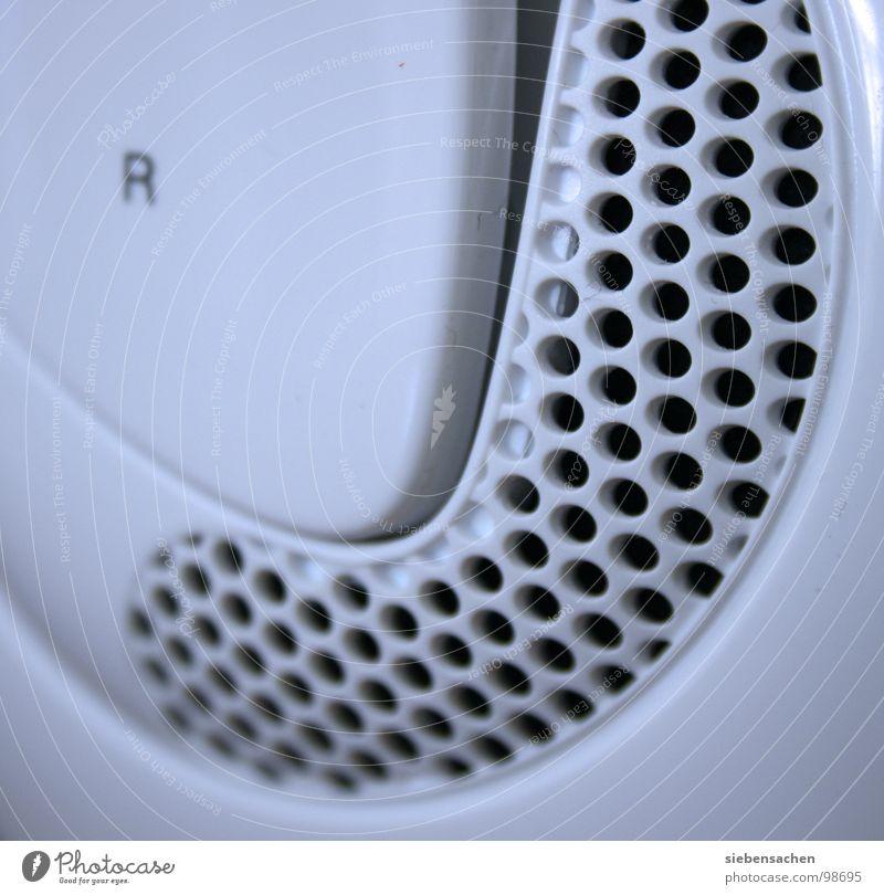 Schallwandler Kopfhörer weiß Loch hören Elektrisches Gerät Technik & Technologie Kurve Strukturen & Formen Nahaufnahme headphones