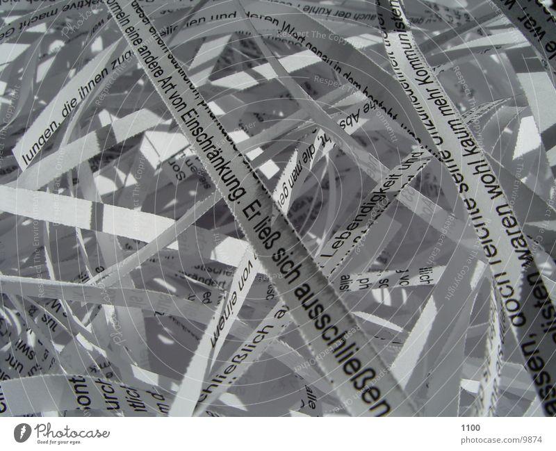 papierschnippsel Papier Streifen Dinge