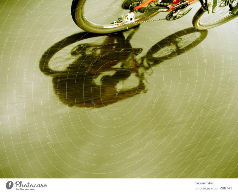 Heißer Asphalt Mountainbike Geschwindigkeit Tour de France fahren Verkehr nass Fahrrad Sommer 2007 Regen frei Freiheit