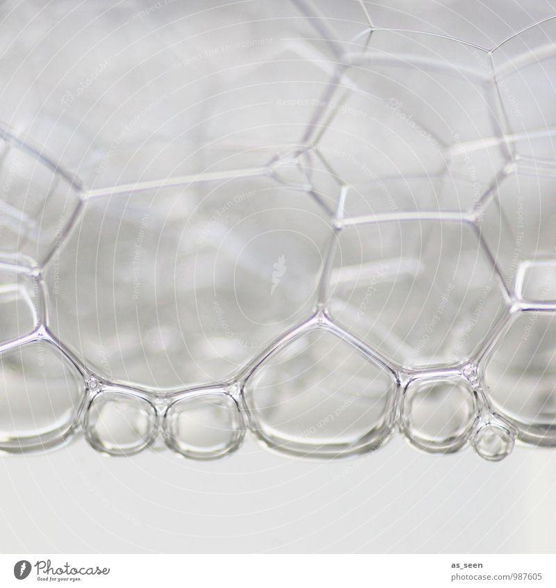 White bubbles schön Wasser weiß Wege & Pfade Gesundheitswesen hell Design elegant modern ästhetisch Technik & Technologie Zukunft Telekommunikation Industrie Coolness rund