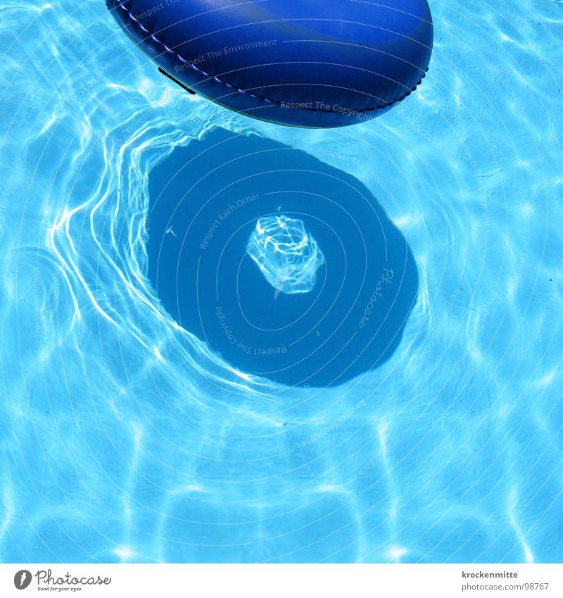 h zwei o blau Wasser Ferien & Urlaub & Reisen Sommer Spielen Schwimmen & Baden Freizeit & Hobby Kreis Schwimmbad Hotel Im Wasser treiben Erfrischung Schwimmhilfe Kühlung aufblasbar