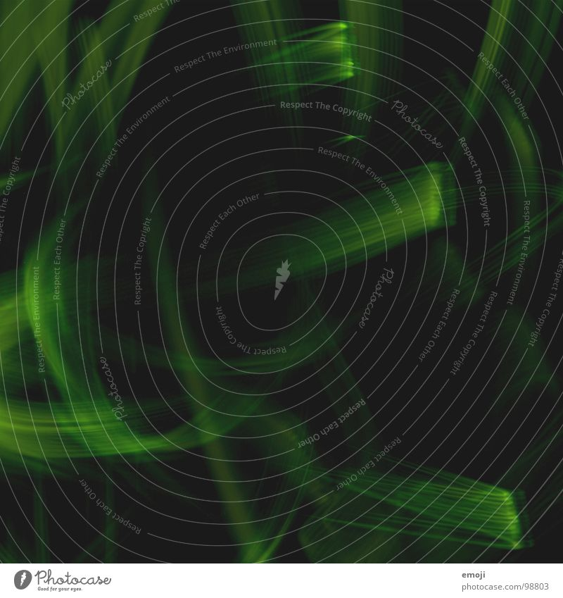 ein bisschen mehr grün gelb grün-gelb dunkel schwarz rund Experiment Kunst Streifen seltsam leer gemischt Zusammensein 3 Langzeitbelichtung obskur light lights