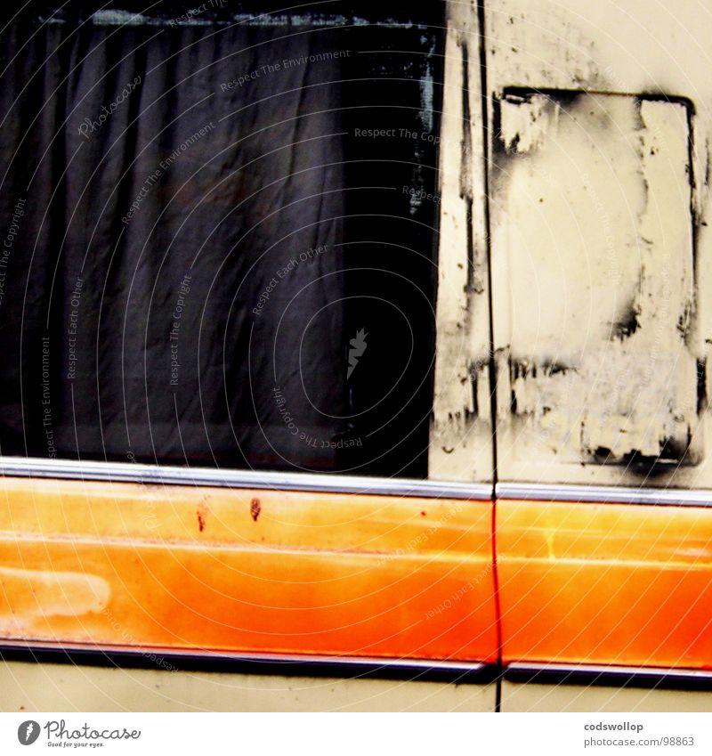doctor and the medics Fenster PKW orange Angst Verkehr Streifen Güterverkehr & Logistik Biegung Krankenwagen 112