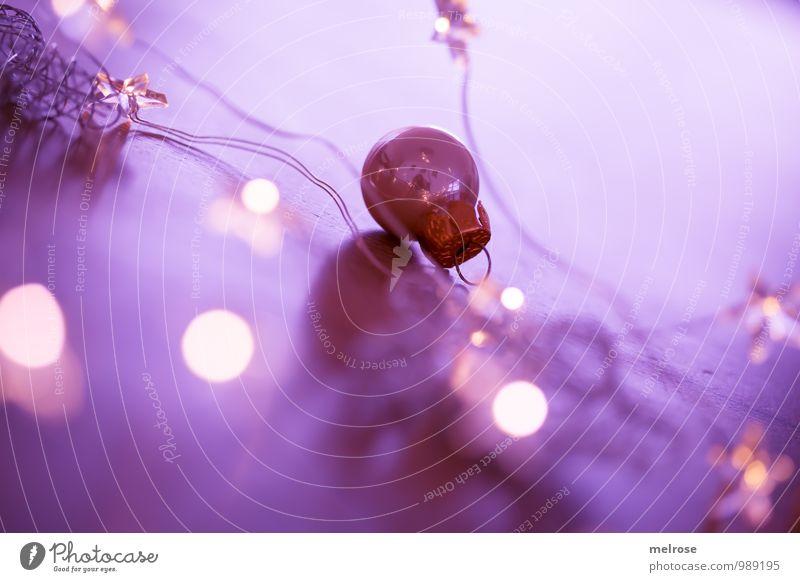 purple christmas Weihnachten & Advent weiß ruhig Winter Religion & Glaube Feste & Feiern Stimmung träumen glänzend gold warten genießen Warmherzigkeit