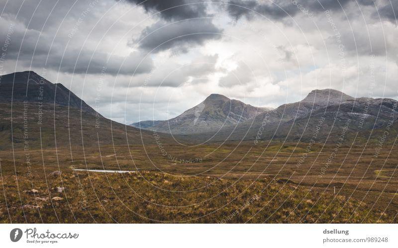 so frei. Ferien & Urlaub & Reisen Abenteuer Ferne Freiheit Berge u. Gebirge wandern Natur Landschaft Himmel Wolken Frühling Sommer Herbst Klima Wetter Wiese