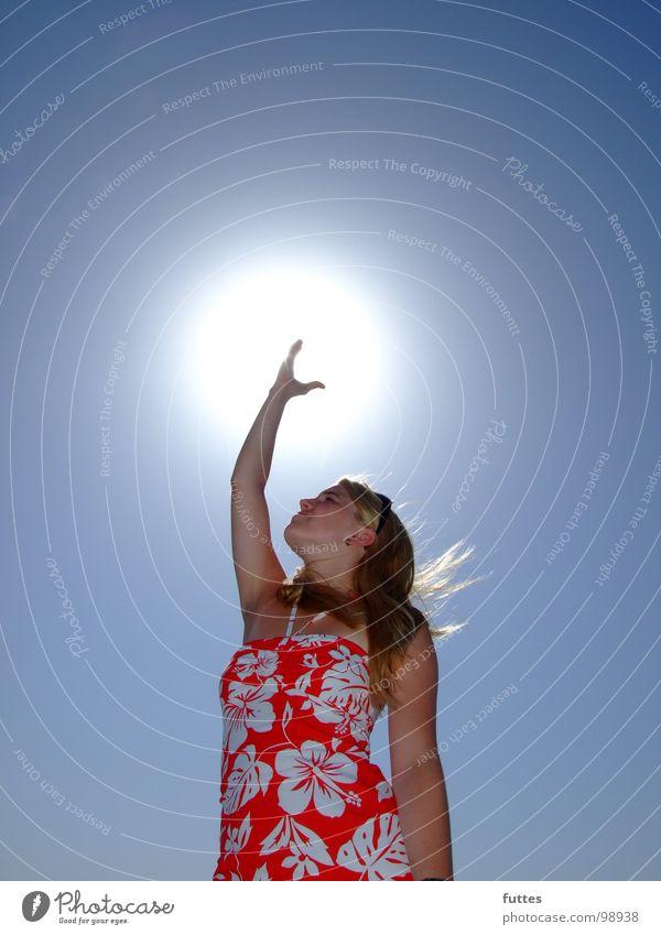 Sonnenfang II Himmel Sonne Sommer Ferien & Urlaub & Reisen Luft Mallorca Spanien Hibiscus