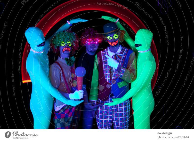 SCHORSCH & Die Zwangsjacken Mensch Jugendliche Mann Freude Junger Mann 18-30 Jahre Erwachsene außergewöhnlich Kunst Lifestyle Freundschaft maskulin Freizeit & Hobby verrückt Kommunizieren einzigartig