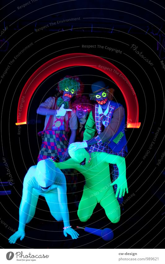 SCHORSCH & Die Zwangsjacken Stil Freizeit & Hobby Mensch maskulin Junger Mann Jugendliche Erwachsene Freundschaft Leben 5 Menschengruppe 18-30 Jahre 30-45 Jahre