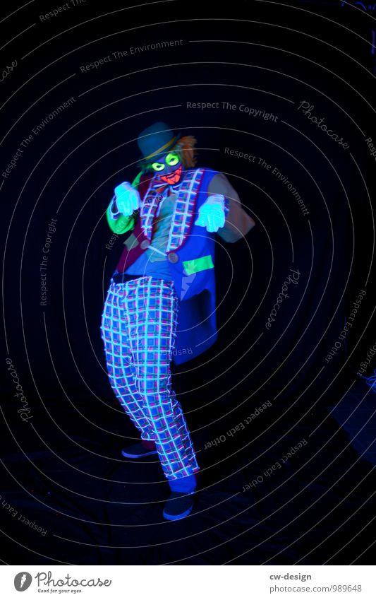 Der Clown - SCHORSCH & Die Zwangsjacken Stil Spielen Mensch maskulin Junger Mann Jugendliche Erwachsene Leben 1 18-30 Jahre 30-45 Jahre Kunst Künstler Bühne