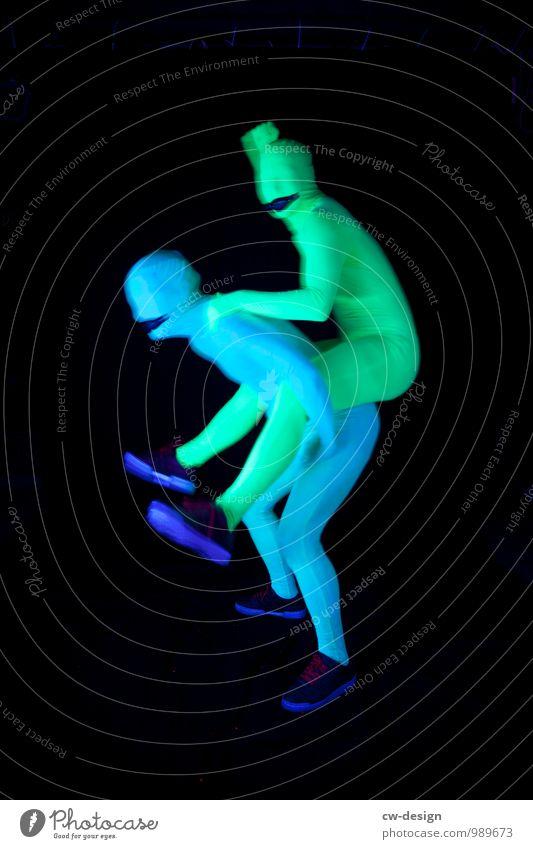 SCHORSCH & Die Zwangsjacken Mensch Jugendliche Mann Freude Junger Mann 18-30 Jahre Erwachsene Stil außergewöhnlich Kunst Paar Party Freundschaft maskulin Erfolg Tanzen