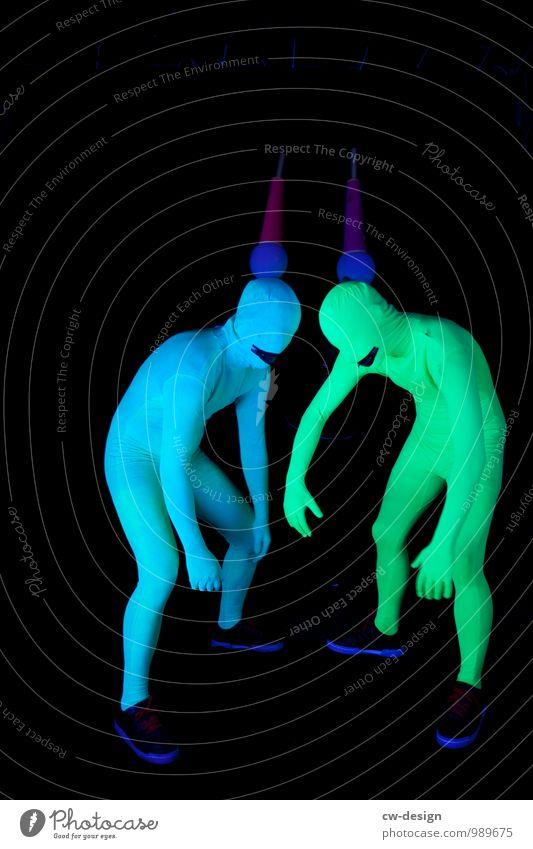 So gehen die Gauchos - SCHORSCH & Die Zwangsjacken Mensch Jugendliche Mann Junger Mann Freude 18-30 Jahre Erwachsene Leben Stil Menschengruppe Kunst Party