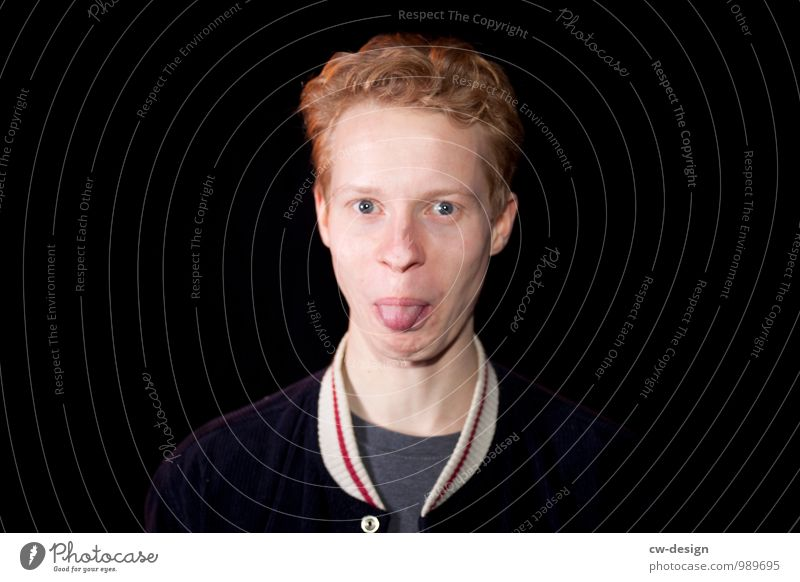 Portrait Henk Mensch Jugendliche Mann Junger Mann Freude 18-30 Jahre Gesicht Erwachsene Lifestyle Leben lustig Stil Glück Freiheit Zufriedenheit maskulin