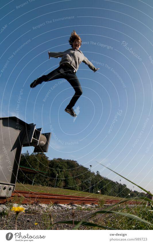 Überflieger Lifestyle elegant Stil Freude sportlich Freizeit & Hobby Ferien & Urlaub & Reisen Tourismus Freiheit Städtereise Sport Fitness Sport-Training Erfolg